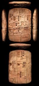 Kassenbon aus Uruk